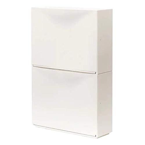 TRONES IKEA Aufbewahrung in weiß; (52x39cm); 2 Stück
