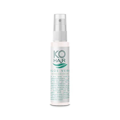 KÖ de Hair Aloe Vera Spray de 100% Aloe Vera Zumo 50ml