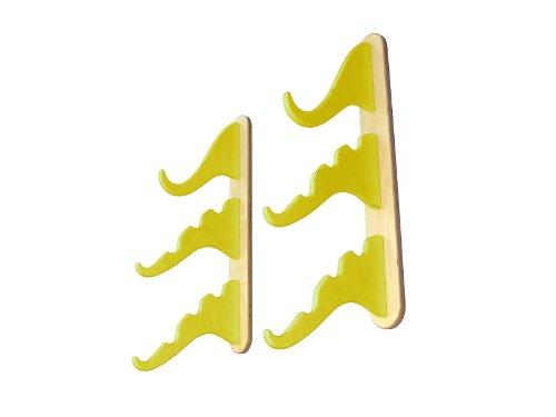 Surf Trunks Triple Snowboard/Inshore/Inshore Angeln Rack, gelb