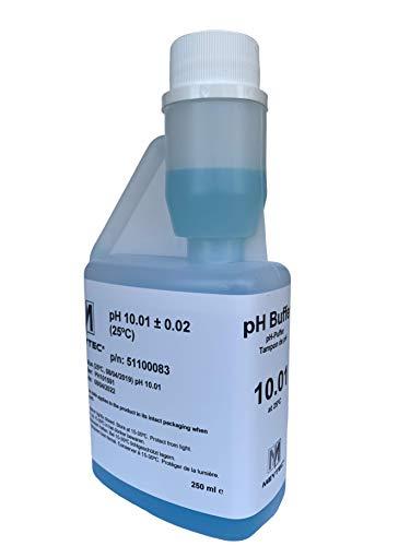 Meytec PH-Kalibrierlösung PH 10.01 Hochwertige Pufferlösung PH 10.01 mit N.I.S.T. Norm und Qualitätszertifikat. -