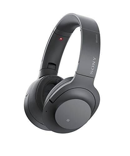 Sony WH-H900N Wireless Digital Noise Cancellation Headphones with Touch Sensor (Black)