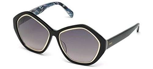 emilio-pucci-ep0019-rechteckig-acetat-damenbrillen-black-blue-fantasy-smoke-shaded05b-e-57-16-140