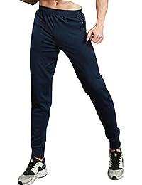 Homme Pantalon de Sport à Séchage Rapide Mince Supplémentaire pour Les  LoisirsJachère Slim Coton Jogging Fitness 2e9cc300c33