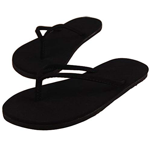 Alaso Tong pour Femme,Flip Flop Été Cool Confort, Pas Cher D'Été Sandales de Plage Pantoufles Mules Slippers Occasionnelles Chaussons