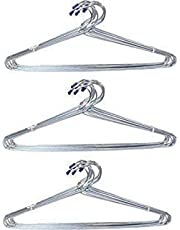 Smax Priya Light Weight Clothes Hanger for Home Use - Pack of 12