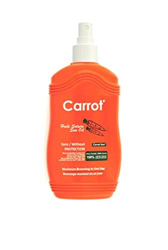 Carrot Sun Spray accélérateur de bronzage à l'huile de carotte/ L-tyrosine/...