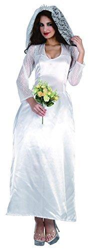 Damen Braut (königsblau Familie) Kostüm für Hochzeit Kostüm Outfit (Story Kostüme Familie Toy)