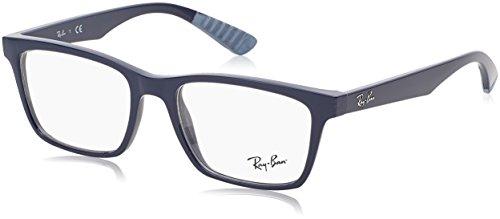 Preisvergleich Produktbild Ray-Ban Herren Brillengestell RX7019,  Schwarz (Negro)