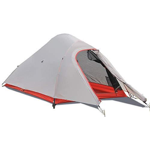 SIHAOYUAN Zelt Camping Vierjahreszeiten Mit Aluminiumlegierung Pole Separated Double Layer Rainproof Outdoor Zelt 295X110X105Cm - Octagon Pole
