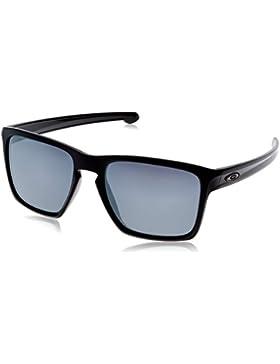 Oakley SLIVER XL, Gafas de Sol Para Hombre, Negro (Polished Black), 57