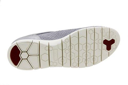 Scarpe donna comfort pelle Piesanto 6994 sportive soletta estraibile comfort larghezza speciale Gris