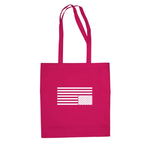 Card House Dollar Flag - Stofftasche / Beutel Pink