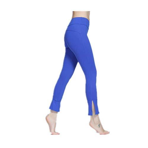 GIRlAA Yoga Mode Hosen Frauen Engen Saison Fitness Kleidung Sport Laufen Hosen Dünne Glocke Hosen Sport Tanz Yoga Hosen Für Frauen Dünne Bell Bottom Tanz Yogahose x1 XL