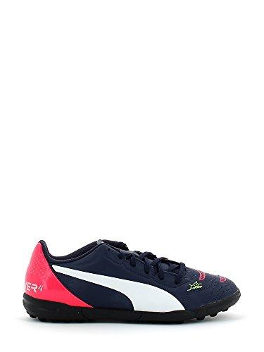 Puma evoPOWER 4.2 TT Jr Unisex-Kinder Fußballschuhe Blau