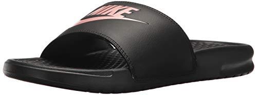 Nike wmns benassi jdi, scarpe da fitness donna, multicolore (black/rose gold 007), 38 eu