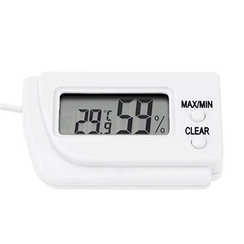 Garciadia Mini-LCD-Digital-Ei-Brut Thermometer Hygrometer Fernmeßinstrument Fernmessung von Feuchtigkeits- und Temperatur Flip Out Ständer