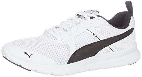 Puma Flex Essential Core Low Boot Sneaker Weiss-Schwarz, - Essential Flex Puma
