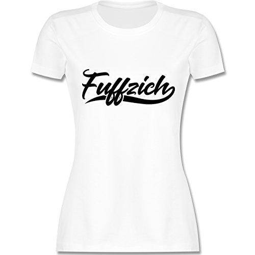 Geburtstag - Fuffzich 50. Geburtstag - M - Weiß - L191 - Damen T-Shirt Rundhals