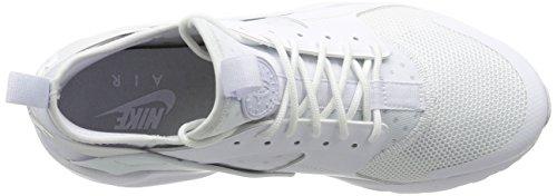 Nike Air Huarache Run Ultra, Chaussures de Running Entrainement Homme Blanc (White/White-White)