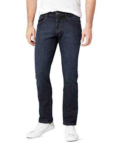 Camel Active Herren 9939 Loose Fit Jeans, Blau (Dark Blue Decent Use 85), W40/L30