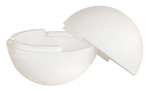 Boule en polystyrène, séparable, 30 cm