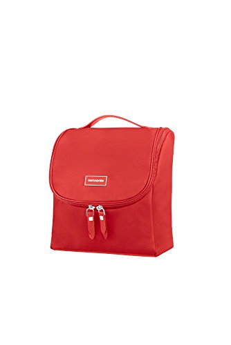 SAMSONITE Karissa Cosmetic Cases - Hanging Toilet Kit Beauty Case, 23 cm, 2 liters, Rosso (Formula Red)