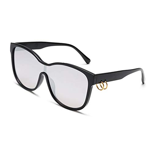 ZHONGYUAN Big-Box-Sonnenbrille Tempel hängen Ring Marine Film Sonnenbrille Outdoor-Reise-Sonnenbrille, s4