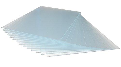 Ersatzglas Bilderglas Bilderrahmenersatzglas entspiegelt Antireflex Acrylglas Kunstglas mit UV-Schutz 50x70cm