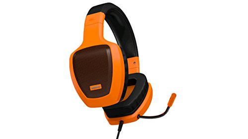 Ozone Rage Z50 - OZRAGEZ50GLO - Auricular Gaming con Micrófono, Color Naranja