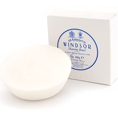 DR Harris & Co Windsor Shaving Soap Refill to fit Wooden Bowl