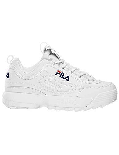 ff20f7c3611c7 Fila Schuhe Coole Damen Retro 90 s Sneaker Disruptor Turnschuhe Weiß