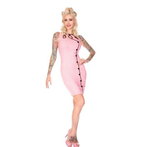 Voodoo Vixen Kleid DRA2125 pink L
