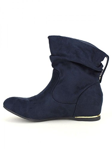 Cendriyon, Bottine Blue BELLO STAR MODA Chaussures Femme Bleu