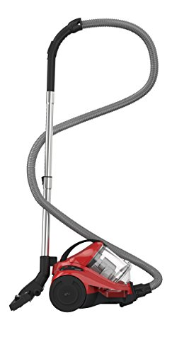 Dirt Devil DD2822-1 Yazz Aspirapolvere Senza Sacchetto ciclonico + Spazzola parquet e Mini Tubo 2,7 L Rosso/Nero, 1000 W, 82 Decibel
