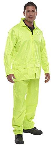 Nylon-anzug (ETC B-Dri Anzug, saturngelb, aus Nylon Größe L Gelb - Saturn Yellow)