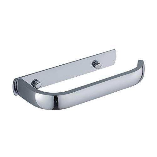LINA Porte-Papier hygiénique, chromé Elbow Copper Acier Inoxydable Porte-Serviette hygiénique Wide-Side