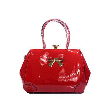 La donna pu Ufficio Casual & Carriera Tote Bag imposta,Ruby Ruby