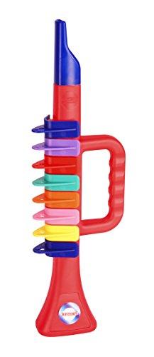 Bontempi 32 2732 Trompete mit 8 farbigen Tasten/Noten