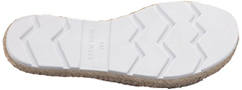Nine West Demetria Haar Pelz Sandale NatM/Bk