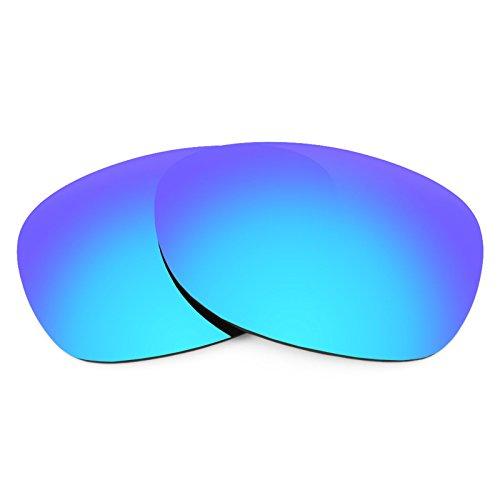 Revant Ersatzlinsen für Ray Ban New Wayfarer 52mm RB2132 Polarisierung Eisblau MirrorShield®