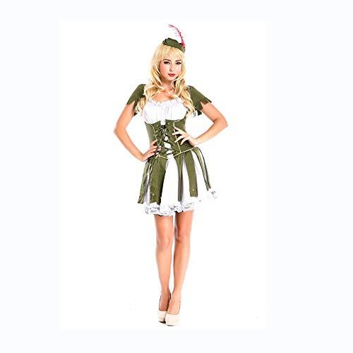 Shisky Cosplay kostüm Damen, Indian Tribe Jäger Kostüm Cosplay Halloween Kostümparty weibliche Piraten ()