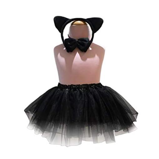 BESTOYARD-Mdchen-Katze-Stirnband-Fliege-Schwanz-Rock-Kostm-Outfit-Leistung-Kostm-Set-fr-Kinder-Mdchen-Halloween-Cosplay-Party-Supplies-3-stcke