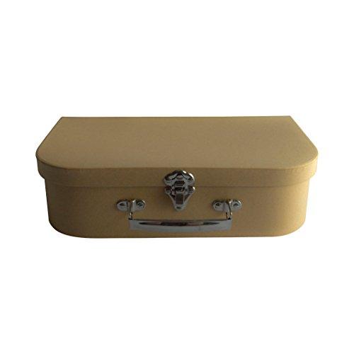 bestdayever–Maleta Kraft 30cm de largo para almacenamiento, Cagnotte urna boda...