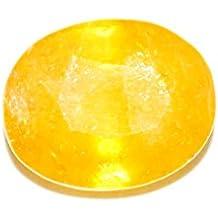 STAR GEMS 4.25 Ratti Pokhraj Natural Yellow Sapphire RASHI ratan Certified stone