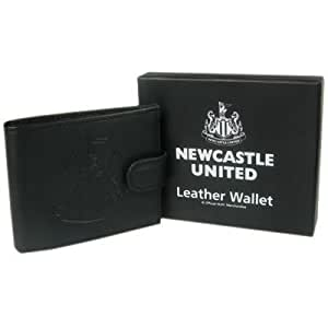 Newcastle United F.C. Embossed Leather Wallet 805. A perfect product/gift to show support for the team you love. Also availible in other clubs.