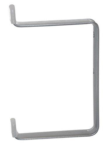 Element System 18133-00116 Skihalter, Ski-Wandhaken, weißaluminium, 185 x 130 mm, 2 Stück -