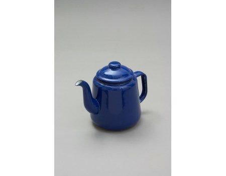Falcon Teekanne, Emaille, 14 cm, Blau