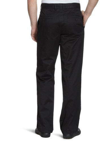 Dockers - Pantalon Homme - D2 All the Time Khaki Straight Fit Noir