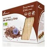 Tostadas Ligeras Arroz Integral Y Lino Soria Natural Bolsa Hermética 85 G (25 X 3.4 G)/Estuche.