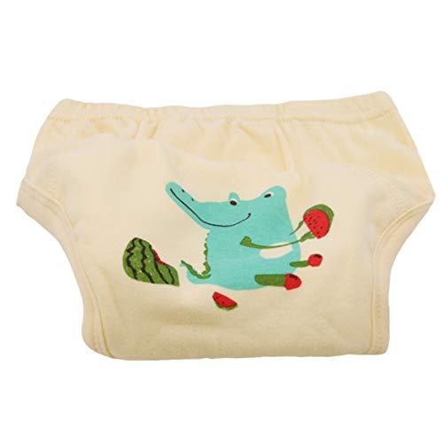 Botreelife pantalon de formation de bébé pot de bébé unisexe mignon unisexe réutilisable (style 1)
